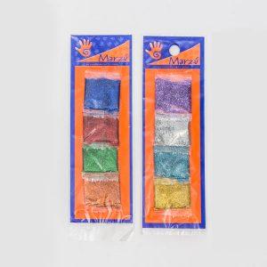 Set Escarcha colores Marzu