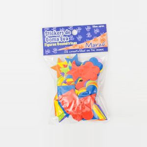 Sticker Goma Eva Figuras Geométricas